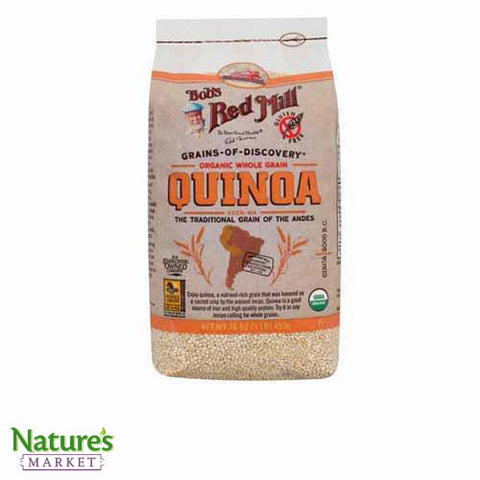 White Quinoa (Organic and Gluten-free)