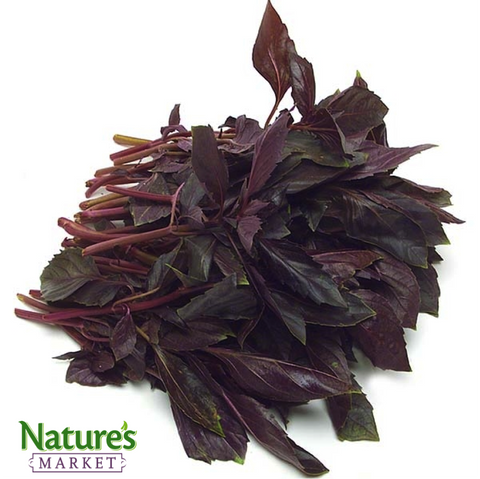 Dried Italian & Purple Basil