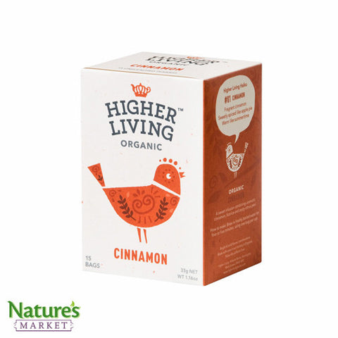 Higher Living Cinnamon (Organic)