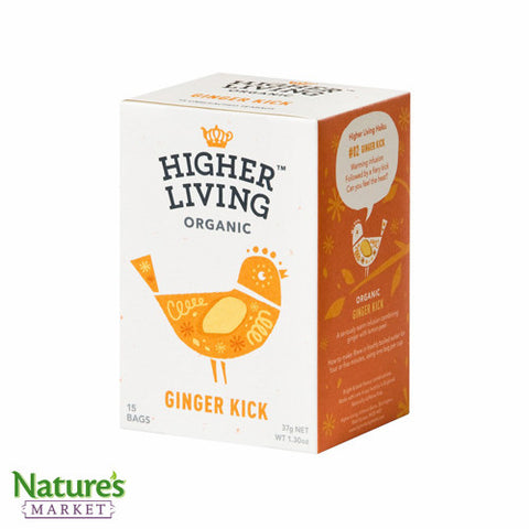 Higher Living Ginger Kick (Organic)