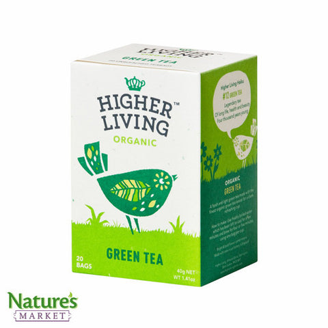 Higher Living Green Tea (Organic)