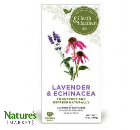 Lavender and Echinacea Tea