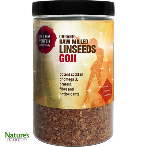 Milled Linseeds & Goji Berries (Organic)