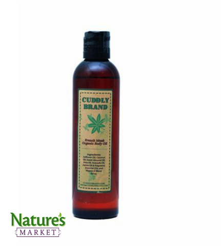 Natural Body & Massage Oil - French Musk