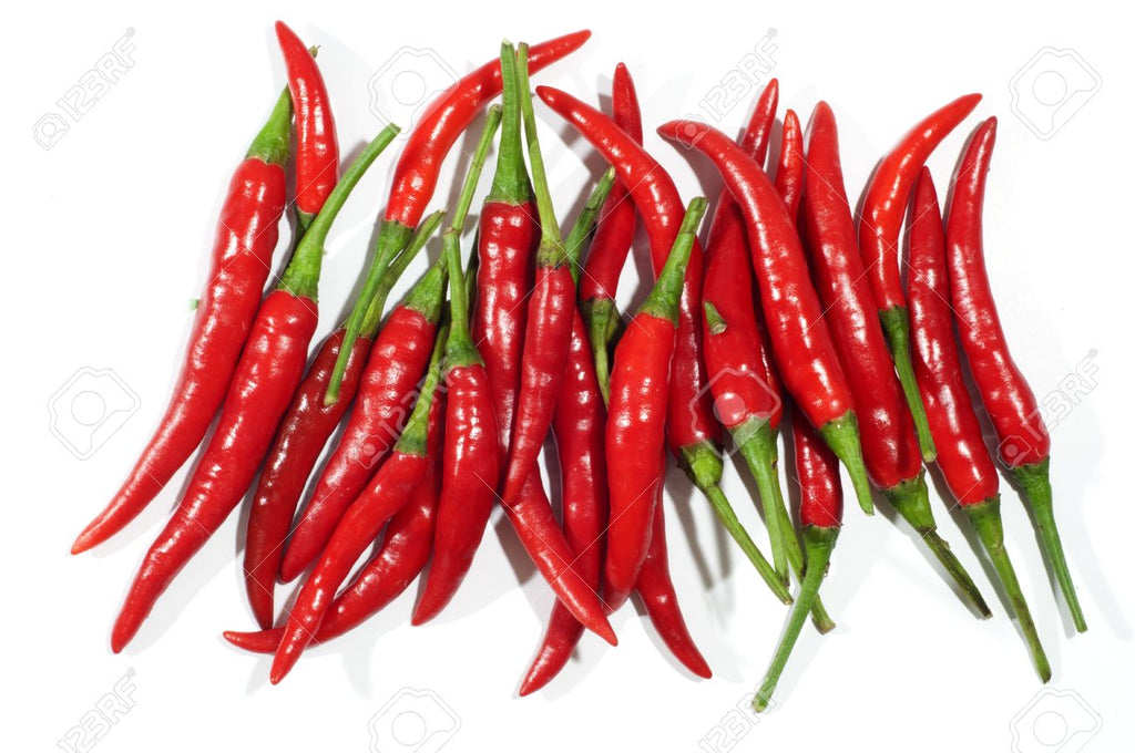 Thai red hot peppers (125g)