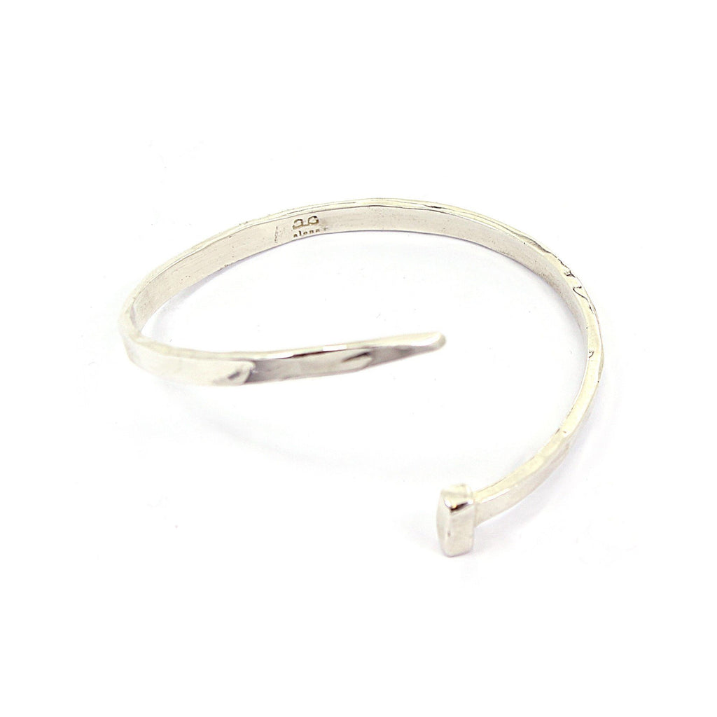 CRYBABY Bangle - Silver - Alona  - 1