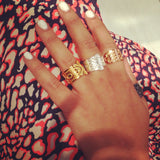 HAMSA Ring - Gold - Alona  - 3