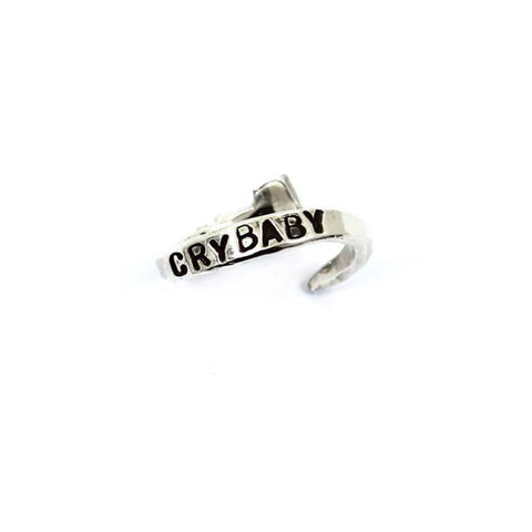 CRYBABY Ring - Silver