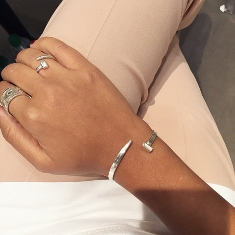 CRYBABY Bangle - Silver