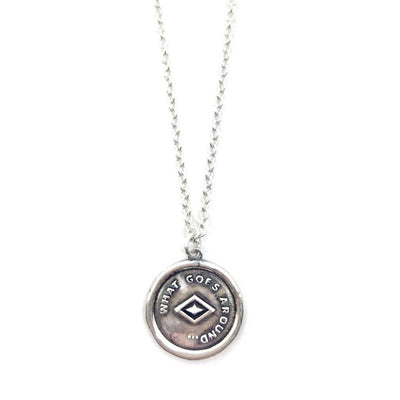 ATHENAIS Necklace- Silver - Alona  - 1