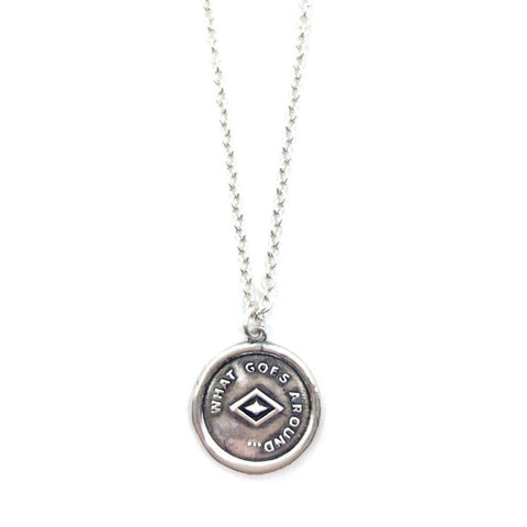 ATHENAIS Necklace- Silver