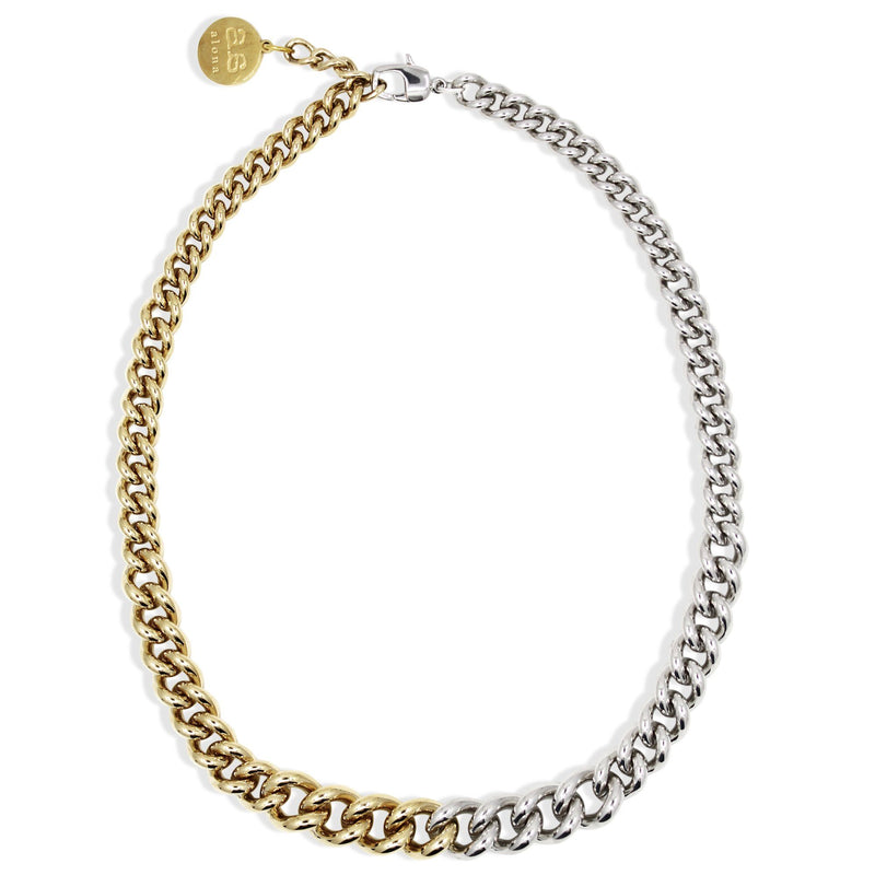 AVA Necklace - Gold & Silver