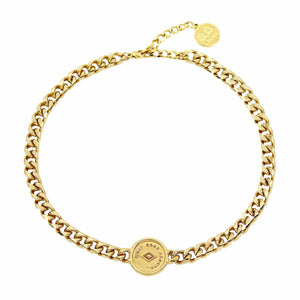 ADELLE Choker - Gold - Alona  - 1