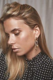 TIFFANY Earrings - Gold with Silver