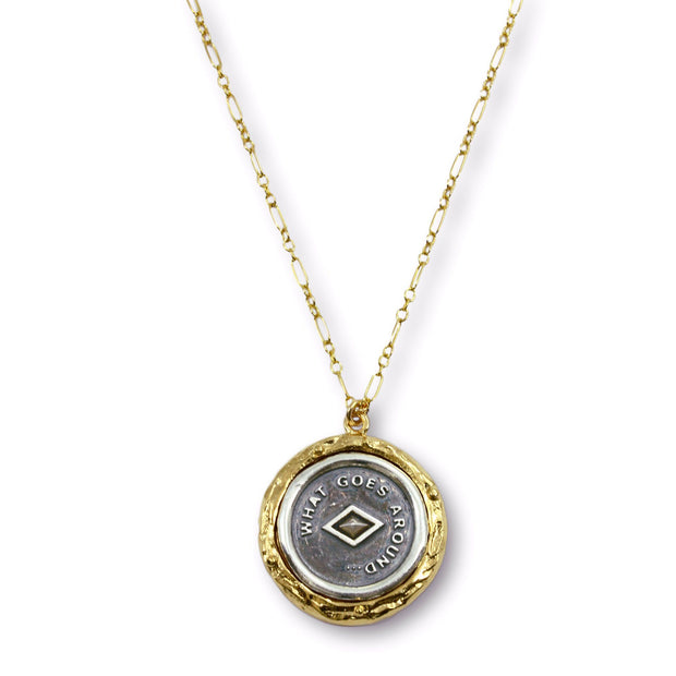 DEMI Necklace - Gold with Silver