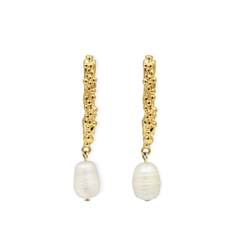 DIONE EARRINGS - GOLD
