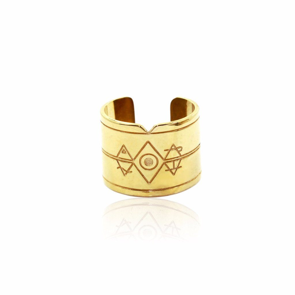 ELEMENTAL Ring - Gold - Alona  - 1