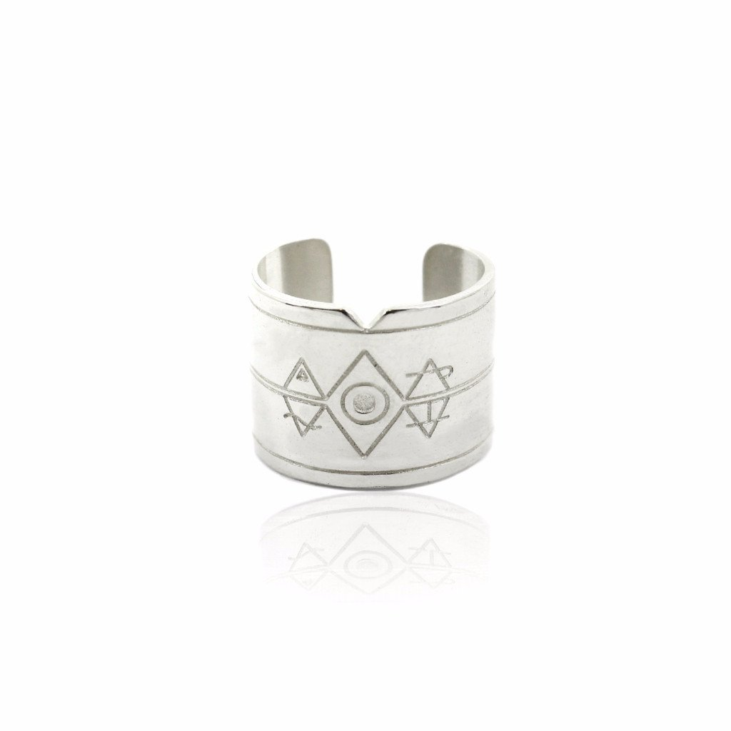 ELEMENTAL Ring - Sterling Silver - Alona  - 1