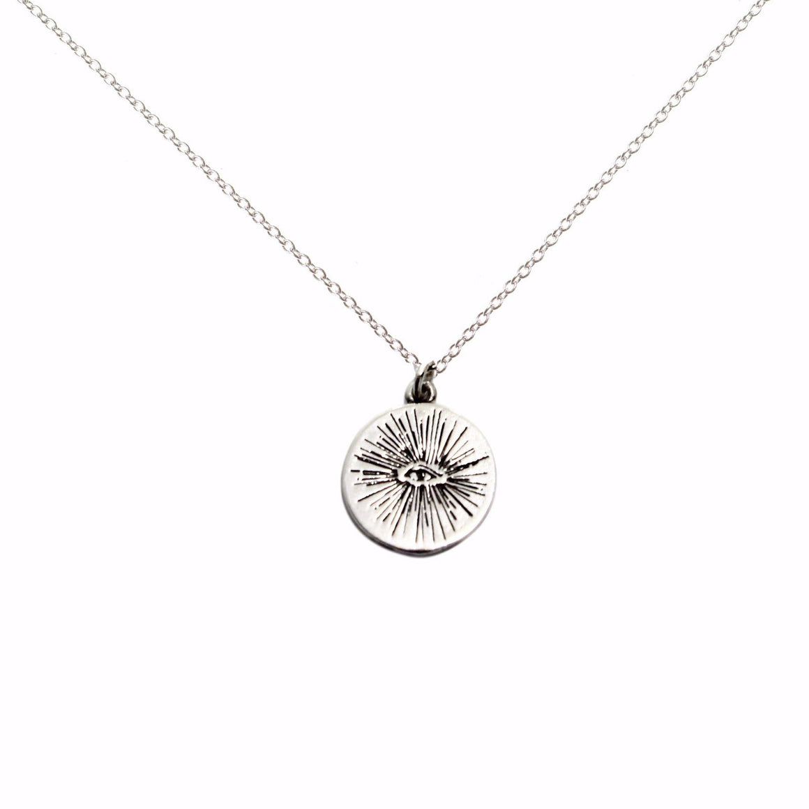 EYENAMOUR Necklace - Silver - Alona