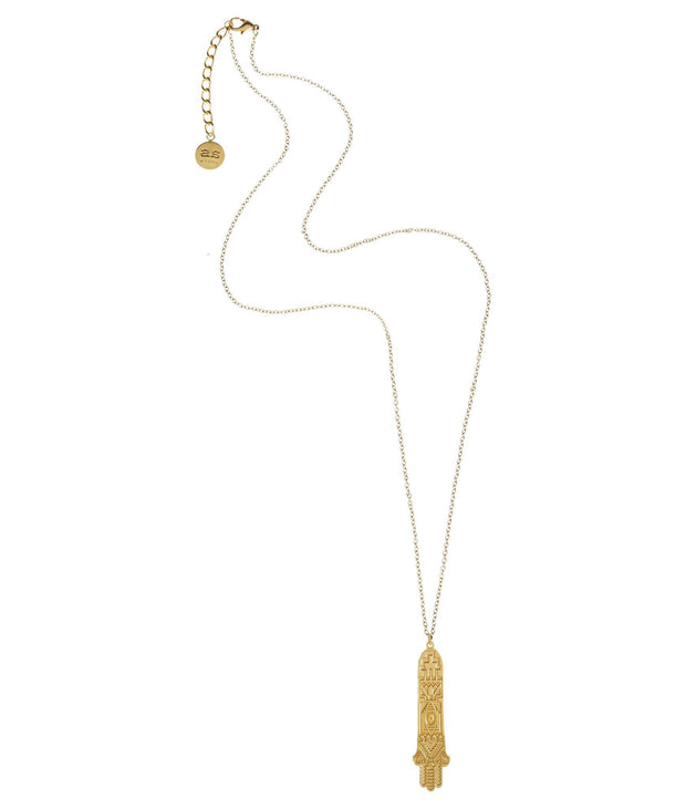 HAMSA Necklace - Gold - Alona  - 2