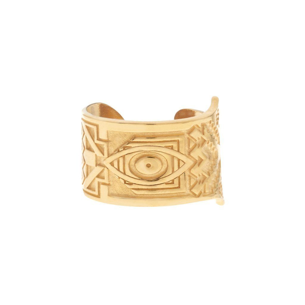HAMSA Ring - Gold - Alona  - 1