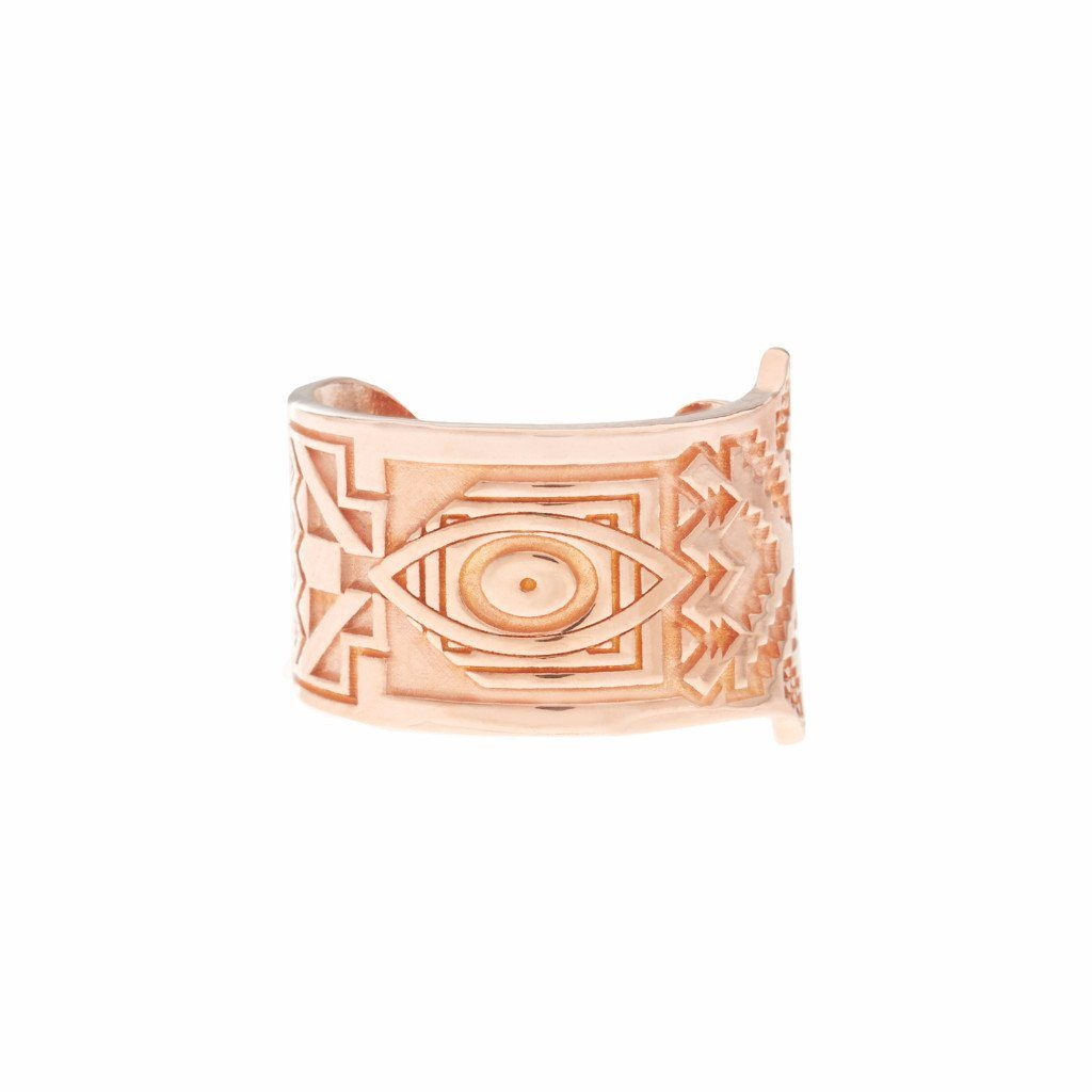HAMSA Ring - Rose Gold - Alona  - 1