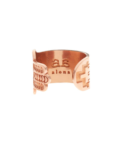 HAMSA Ring - Rose Gold