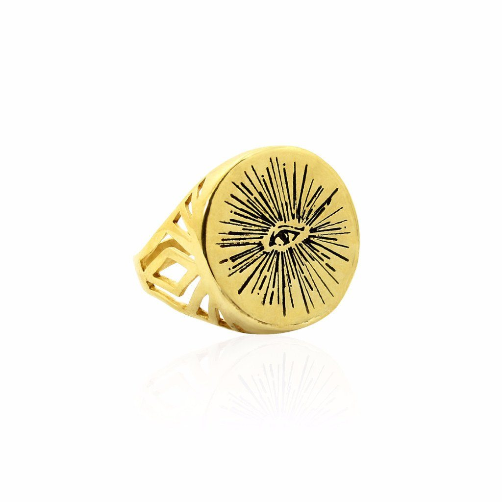 EYENAMOUR Ring - Gold