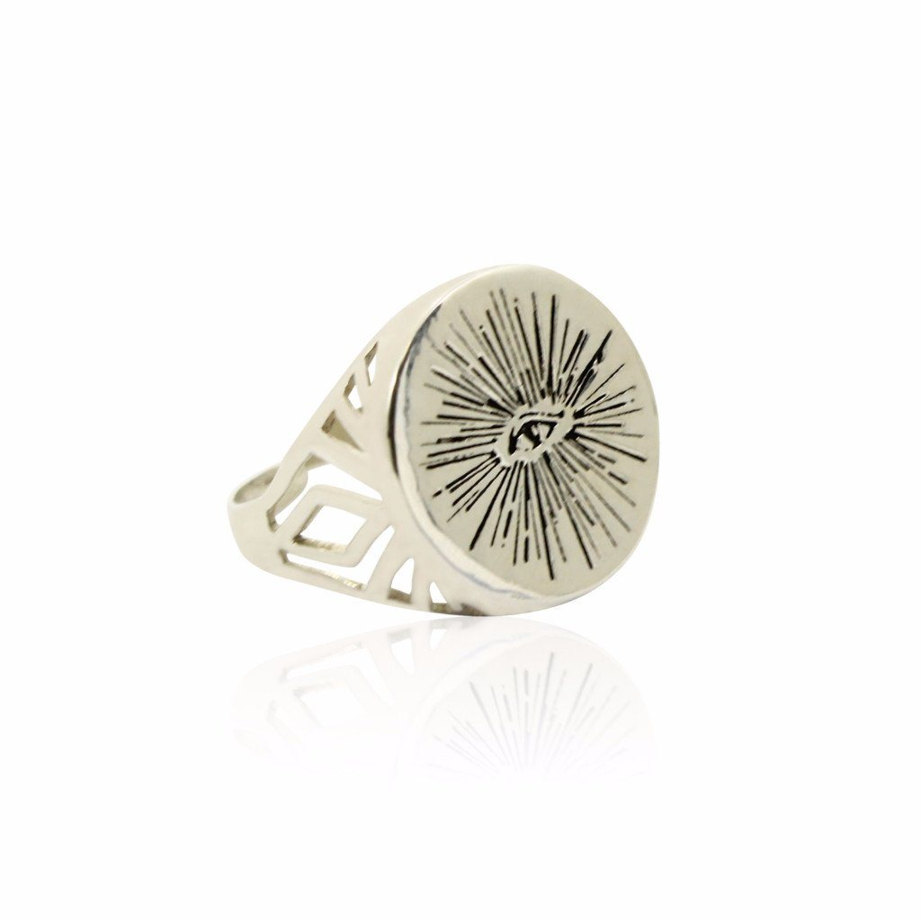 EYENAMOUR Ring - Sterling Silver