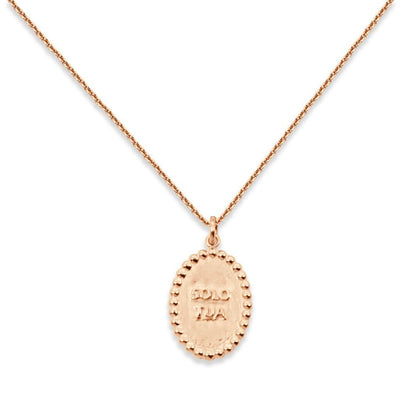 SOLO TUA Necklace - Rose Gold
