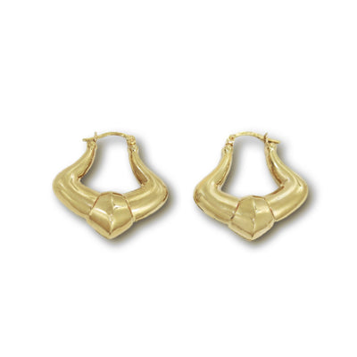 JANICE Earrings - 9K Gold