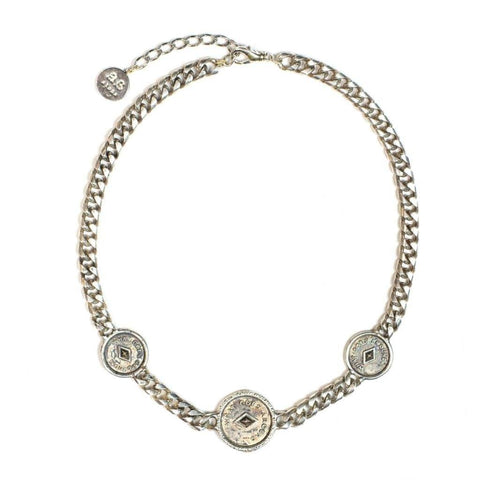 ANNABELLE Necklace- Silver