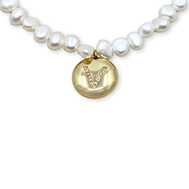VERONICA PEARL Necklace - Gold