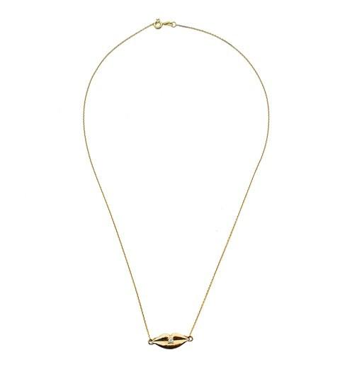 KISS ME LIPS Necklace - Fine Jewellery - Alona  - 1
