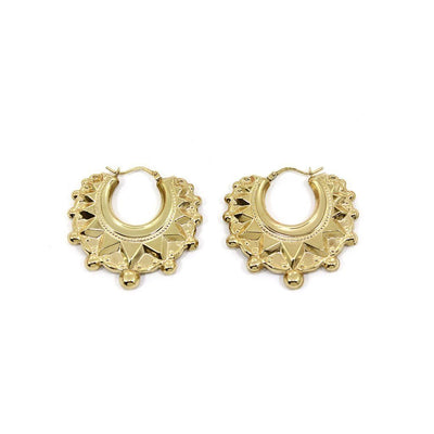 LINDA Earrings - 9K Gold