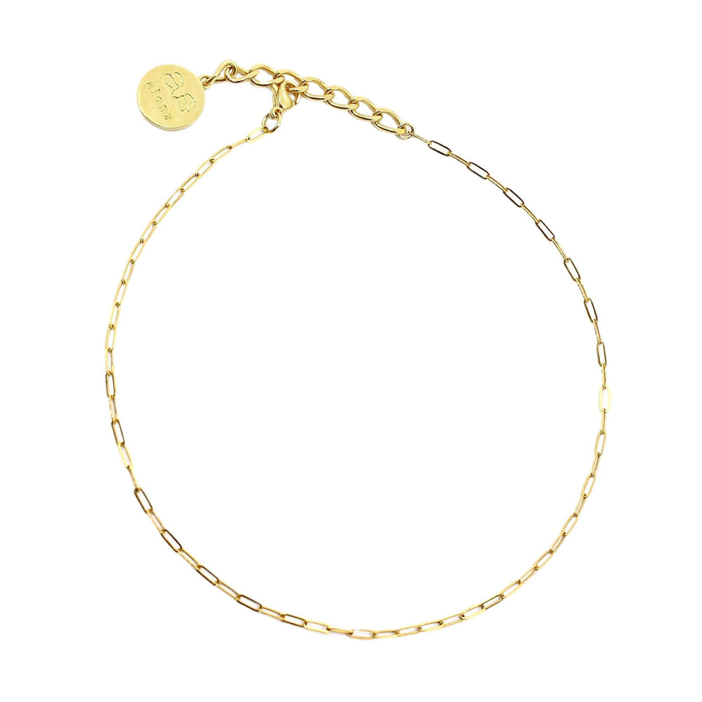LURE Choker - Gold - Alona  - 1