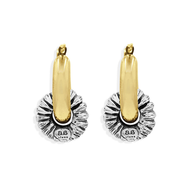 MADELINE Earrings - Gold and Silver