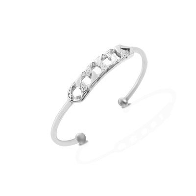 MAXBILL Bangle - Silver