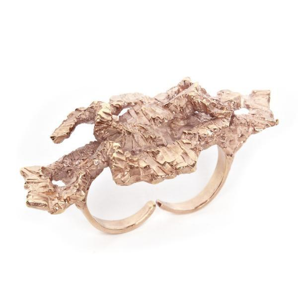 MEGAN Ring - Rose Gold - Alona  - 1