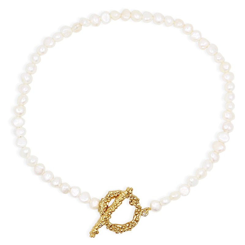 NAIA PEARL Necklace - Gold