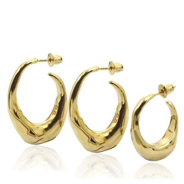 PANAREA TRIPLE Earrings - Gold