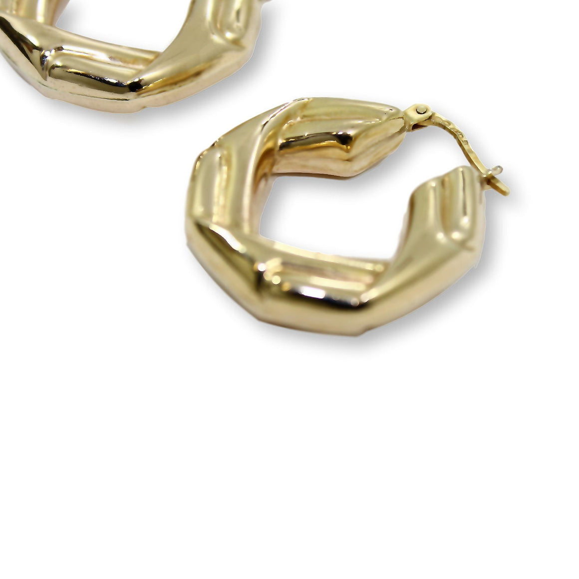 PAULINA HOOP Earrings - 9K Gold