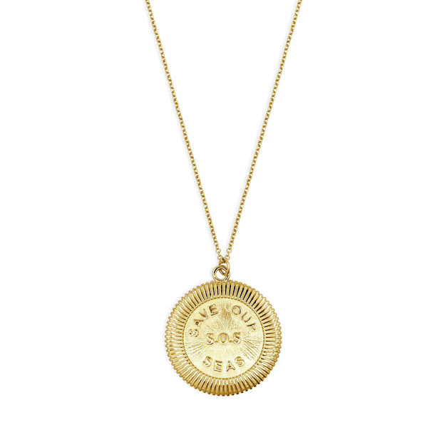 S.O.S Necklace - Gold