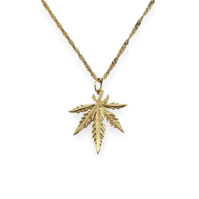 STEPHANIE Necklace - 9K Gold
