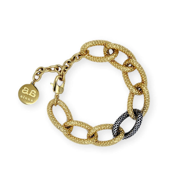 TIFFANY Bracelet - Gold with Silver