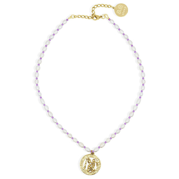 ASTRO PEARL Necklace - Gold