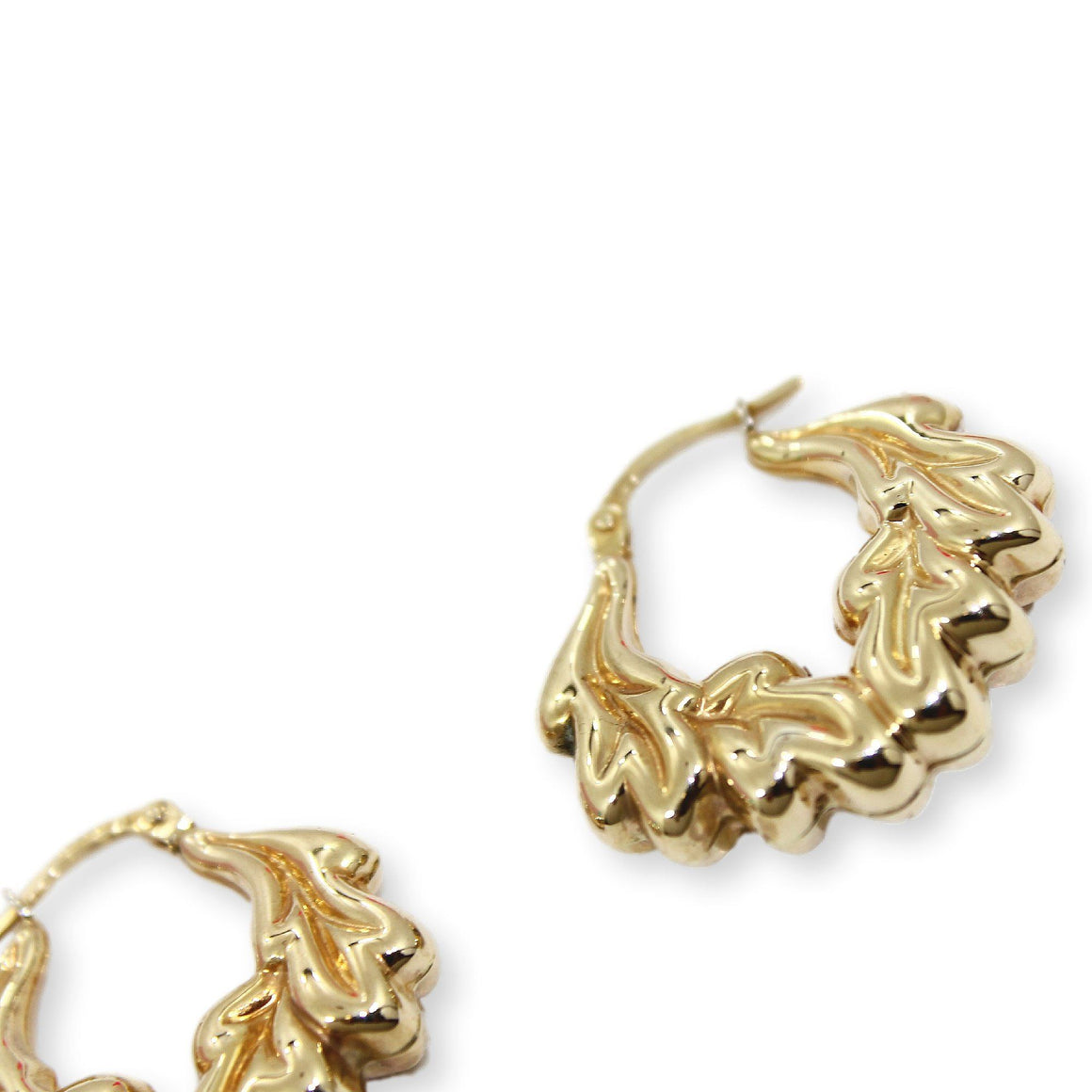 CHRISTY Earrings - 9K Gold
