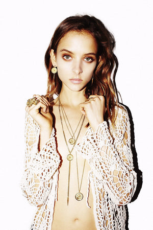 GABRIELLE Necklace- Gold - Alona  - 1
