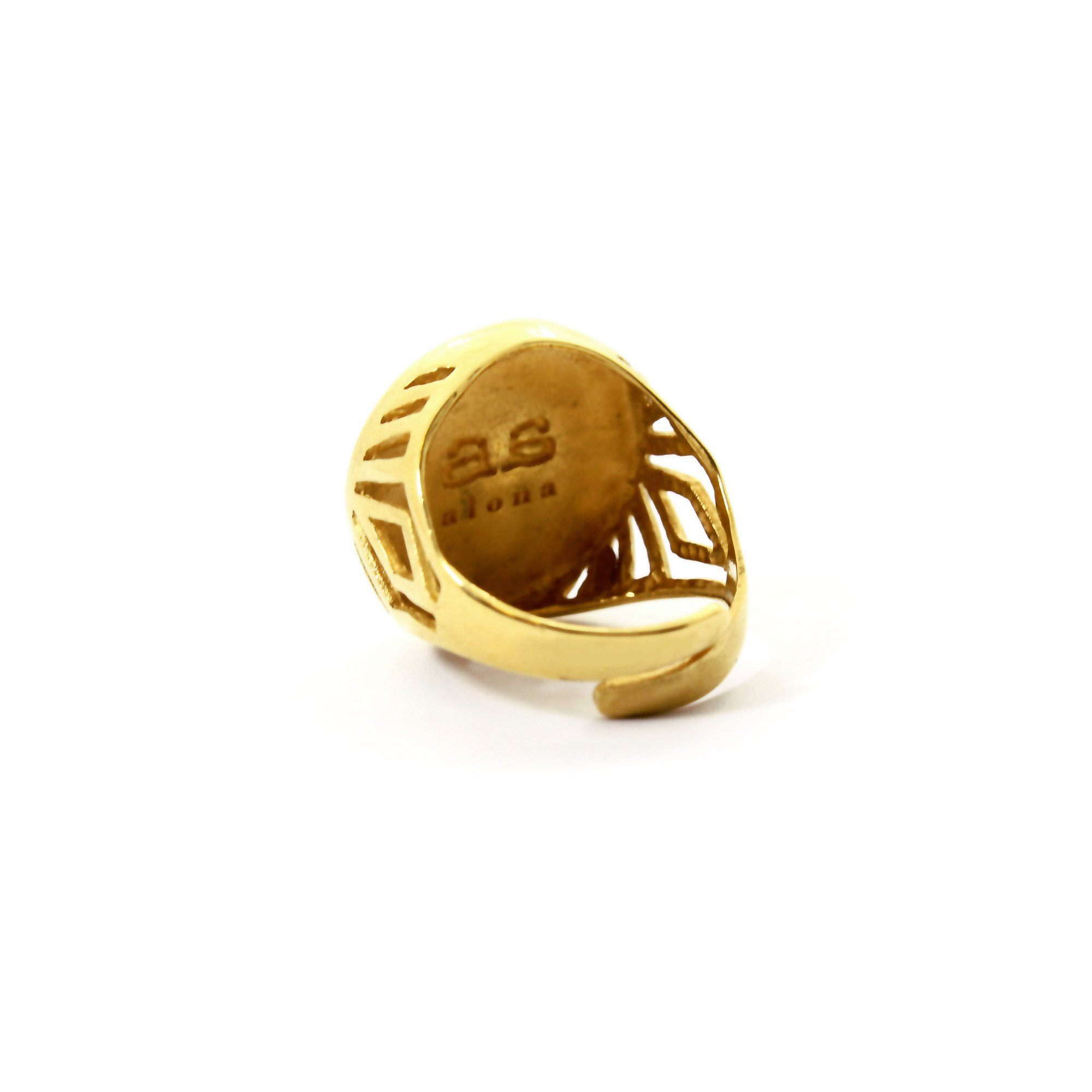 product cross gold ring mini isabel lennse