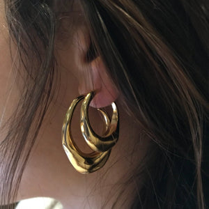 PANAREA Small Earrings - Gold